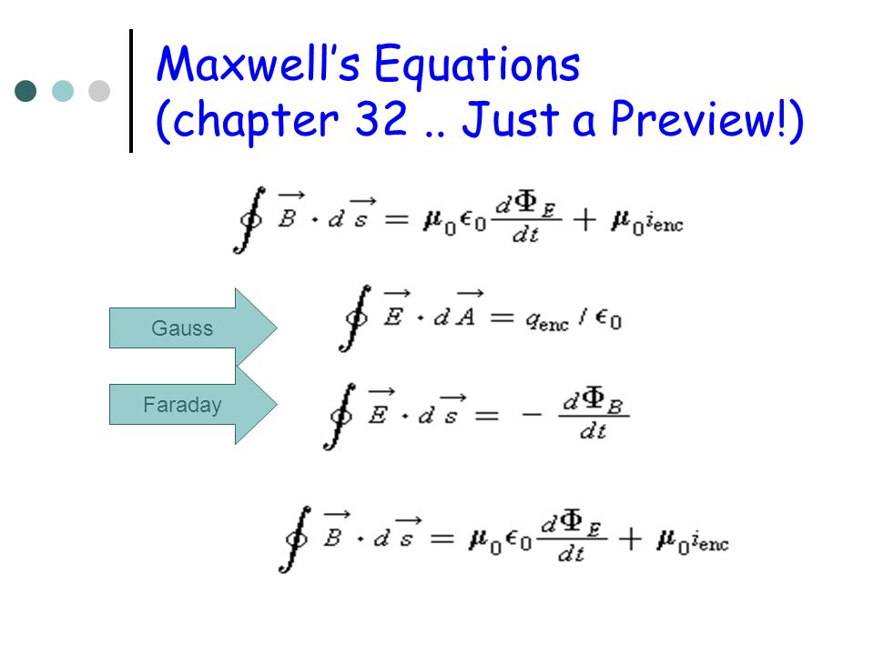 Flux Can Change If B changes If the AREA of the loop changes Changes cause emf s and currents and consequently there are connections between E and B fields These are expressed in Maxwells Equations