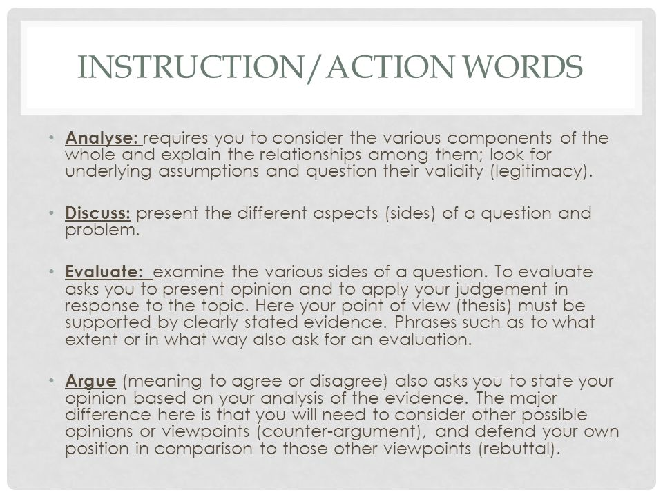 Instruction Word Sheet SlidePlayer