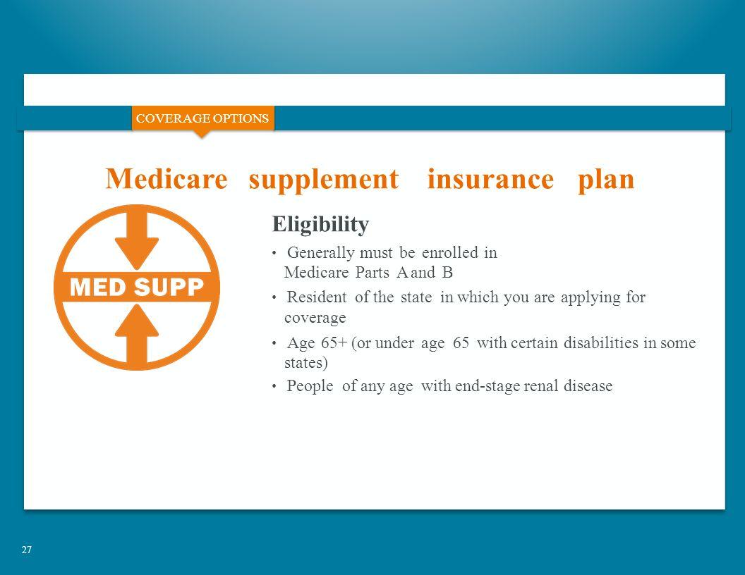 27 Coverage Options Medicaresupplement
