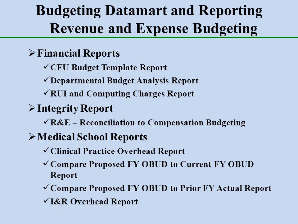 departmental budget template