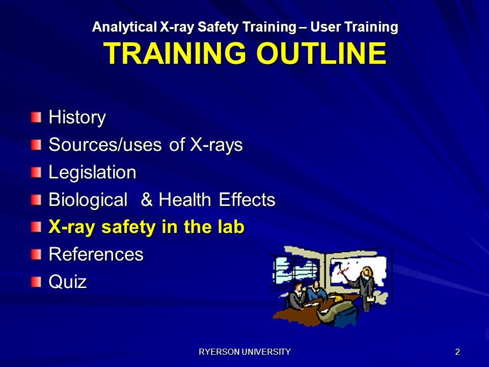 ANALYTICAL X-RAY SAFETY User Training Centre for Environmental ...