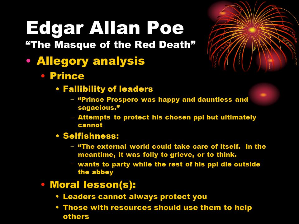 the masque of the red death analysis essay