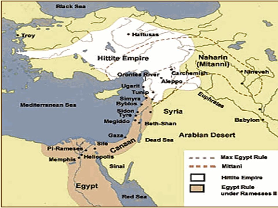 A New Kingdom Part I Can Describe The Influence The Pharaohs - Map of egypt during ramses