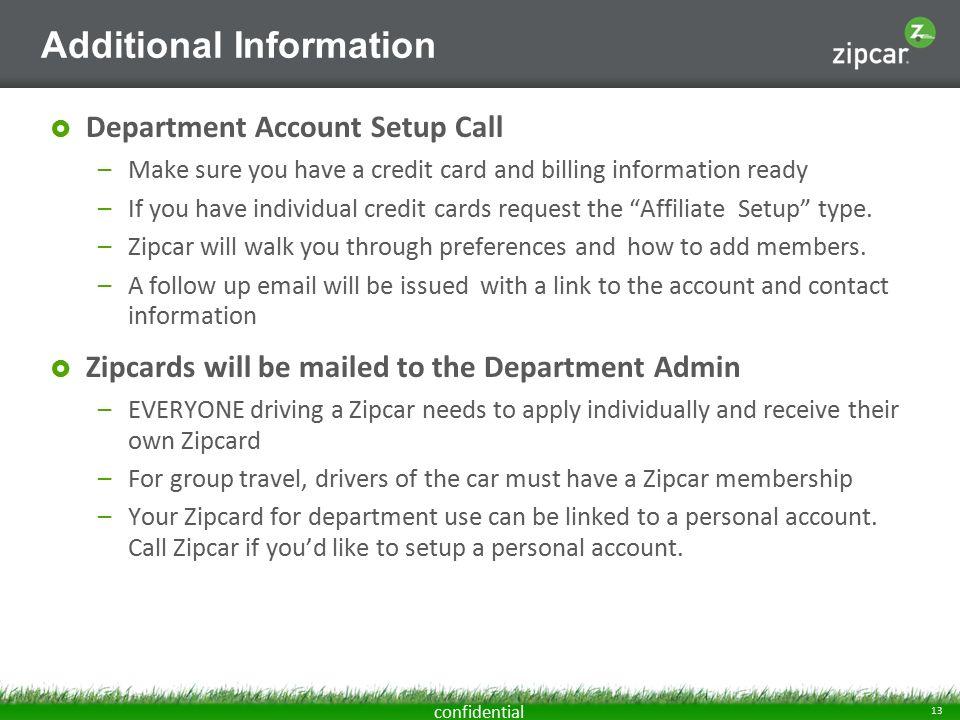 1 confidential Zipcar at Rice University. 2 confidential Zipcar ...