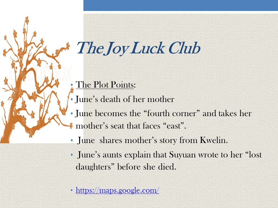the joy luck club like mother