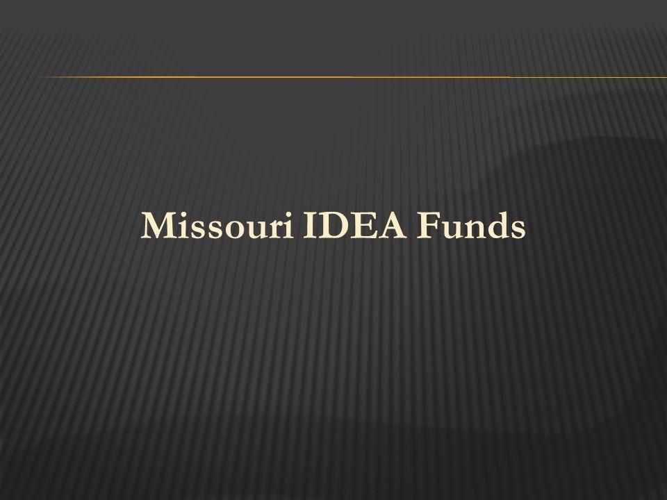 Missouri IDEA Funds