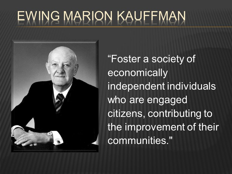 Foster a society of economically independent individuals who are engaged citizens, contributing to the improvement of their communities.