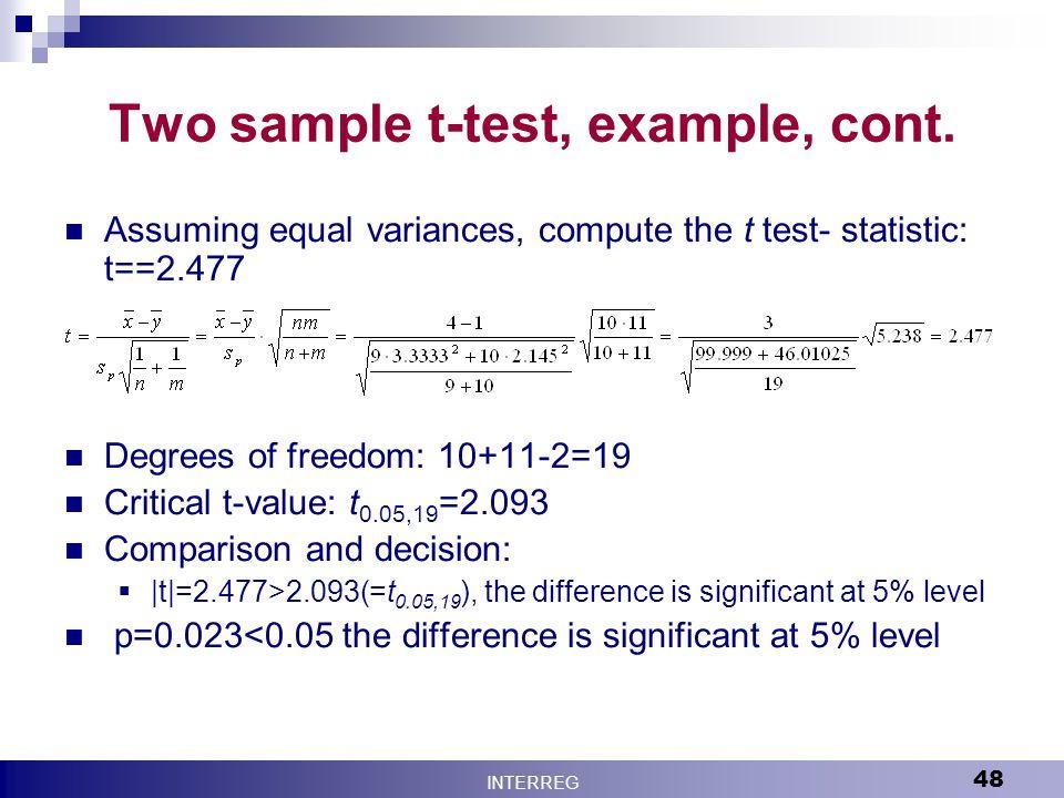 Two Sample T Test Equation - Jennarocca