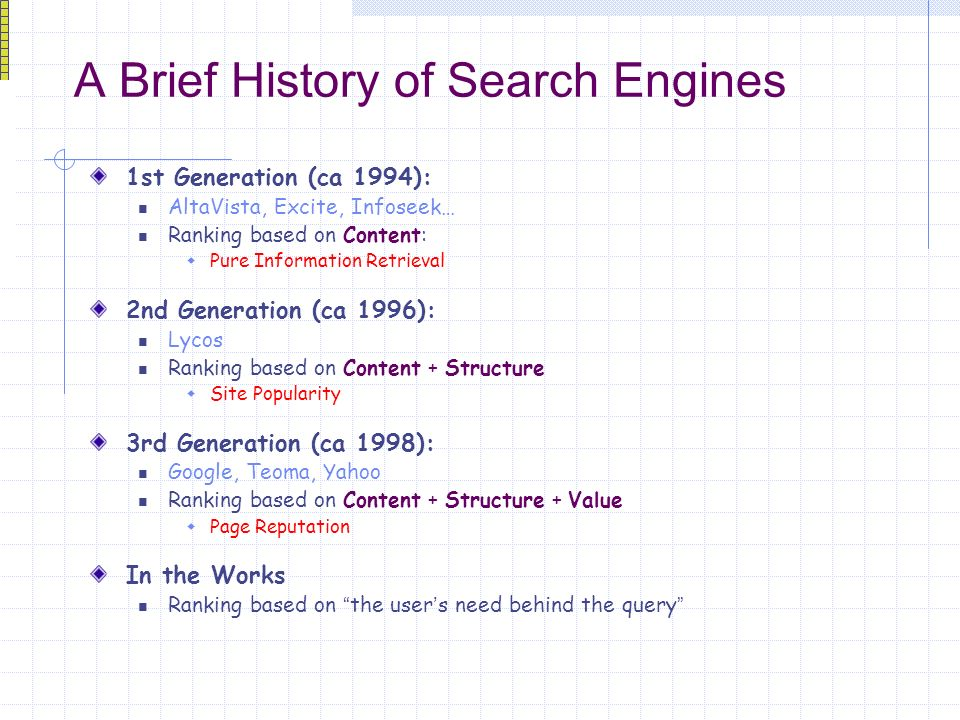 The effects of Web Spam on The Evolution of Search Engines CS315 ...