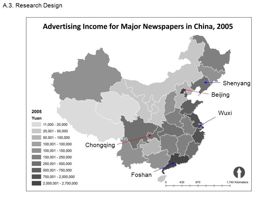 A.3. Research Design Chongqing Foshan Shenyang Beijing Wuxi