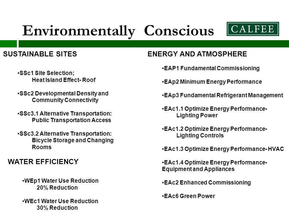 21 sustainable