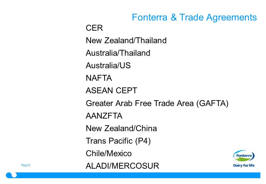 Certifying preferential origin experiences apec self 5 page 5 fonterra trade agreements cer new zealandthailand australiathailand australiaus nafta asean cept greater arab free trade area gafta aanzfta platinumwayz