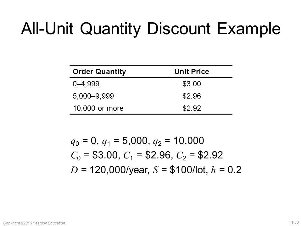 11-50 Copyright ©2013 Pearson Education.