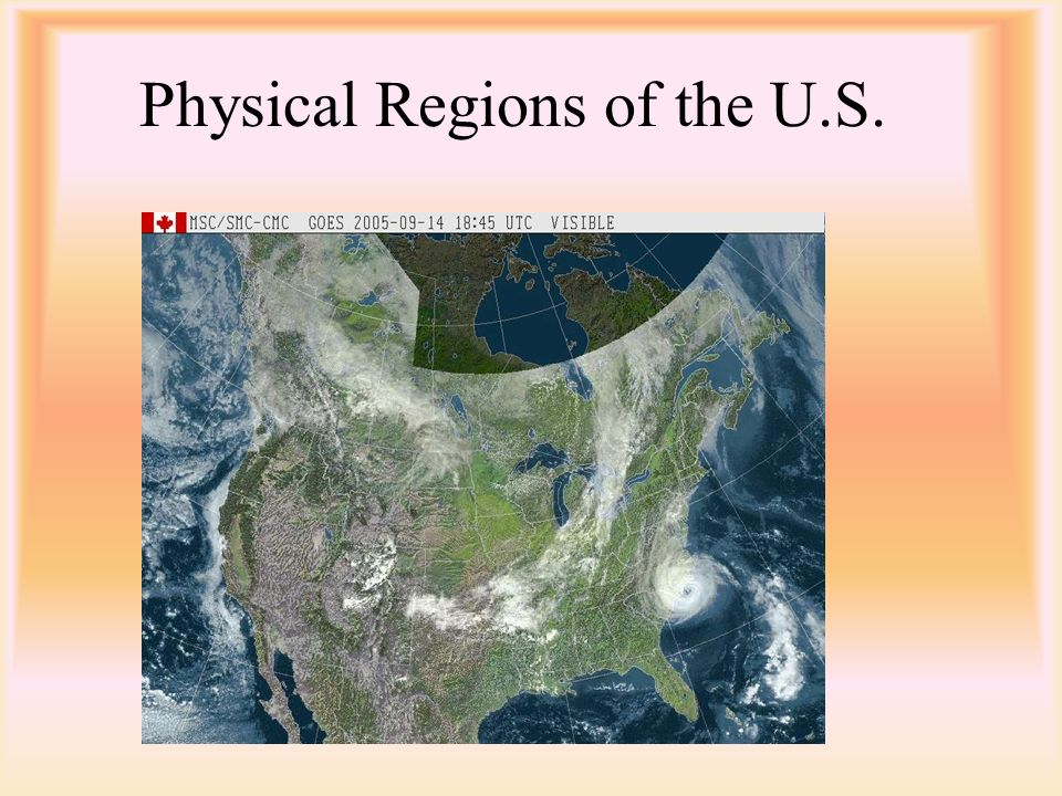 Physical Regions of the U.S.
