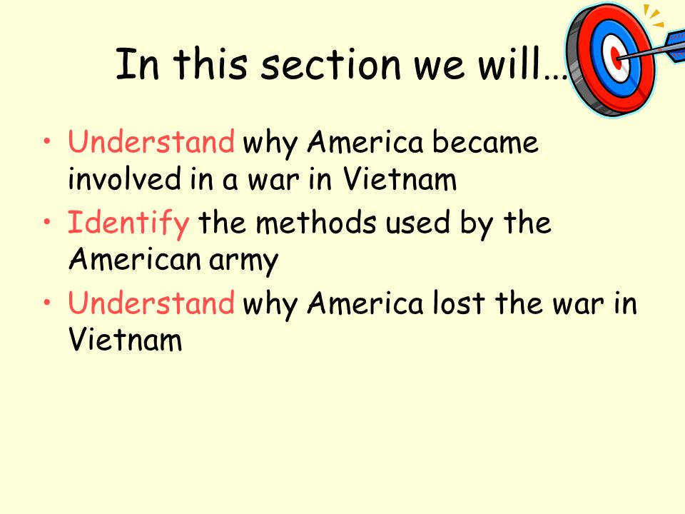 the reason for americas involvement in the vietnam war