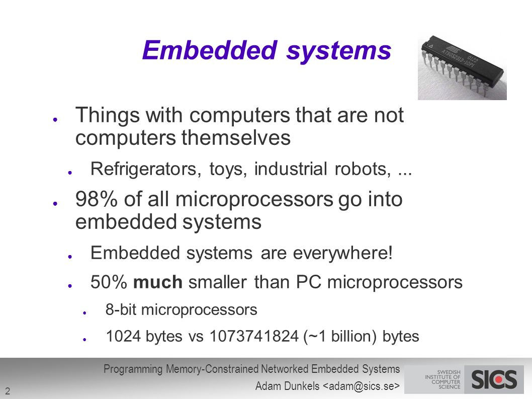 Phd thesis embedded systems
