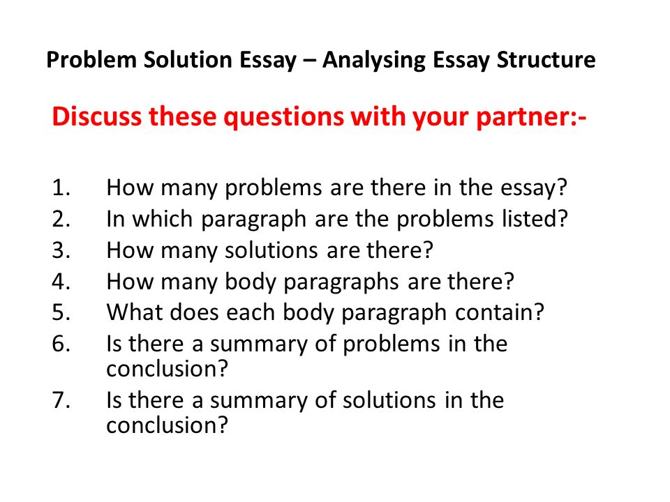 Buy	problem solution essay samples examples