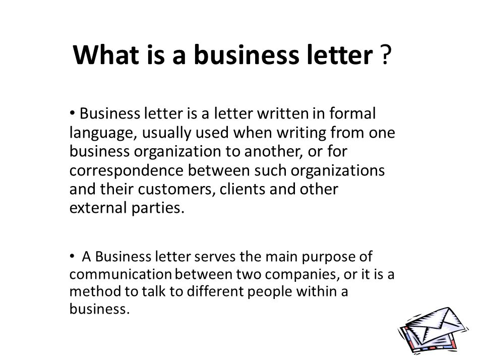business introduction letters
