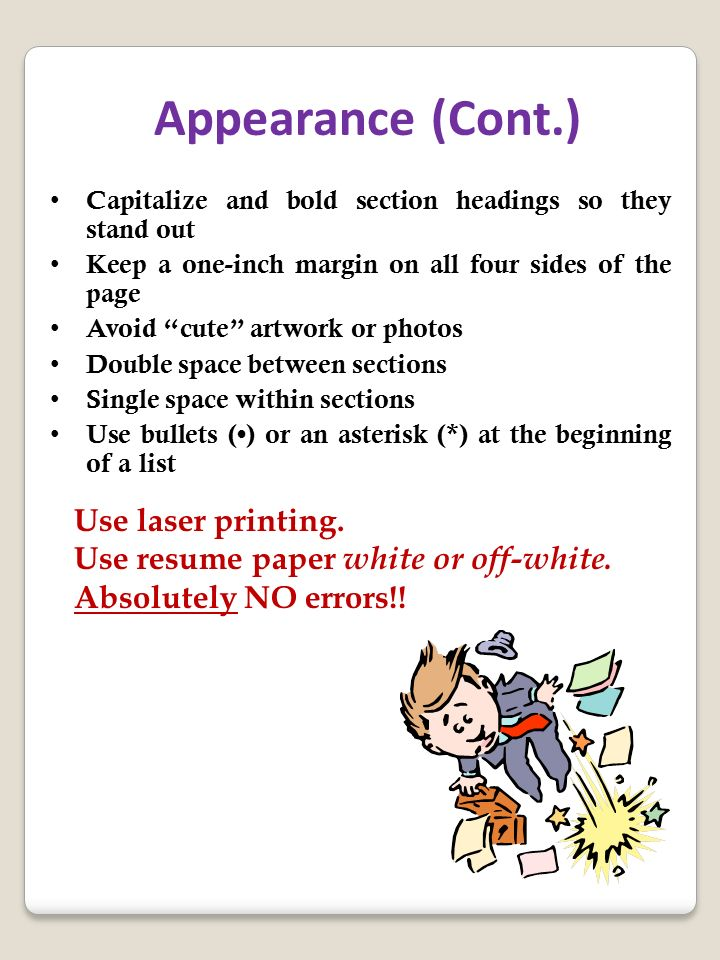 Lists  Bullet Points   the Rule of Three  Resume Tip of the Day     FindSpark One Page Resume