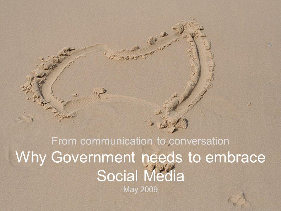 © Daemon Group 2008 From communication to conversation Why Government needs to embrace Social Media May 2009