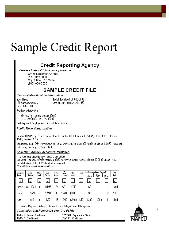 To Your Credit  You Will Know  What A Credit Report Is And How
