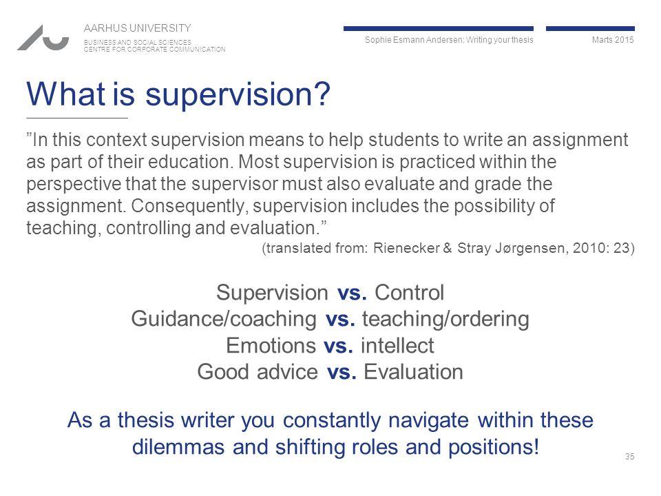 master thesis advisor supervisor Advice on selecting a prospective thesis supervisor (masters) thesis supervisor and ask them to_ask_before_choosing_a_thesis_advisorhtml.