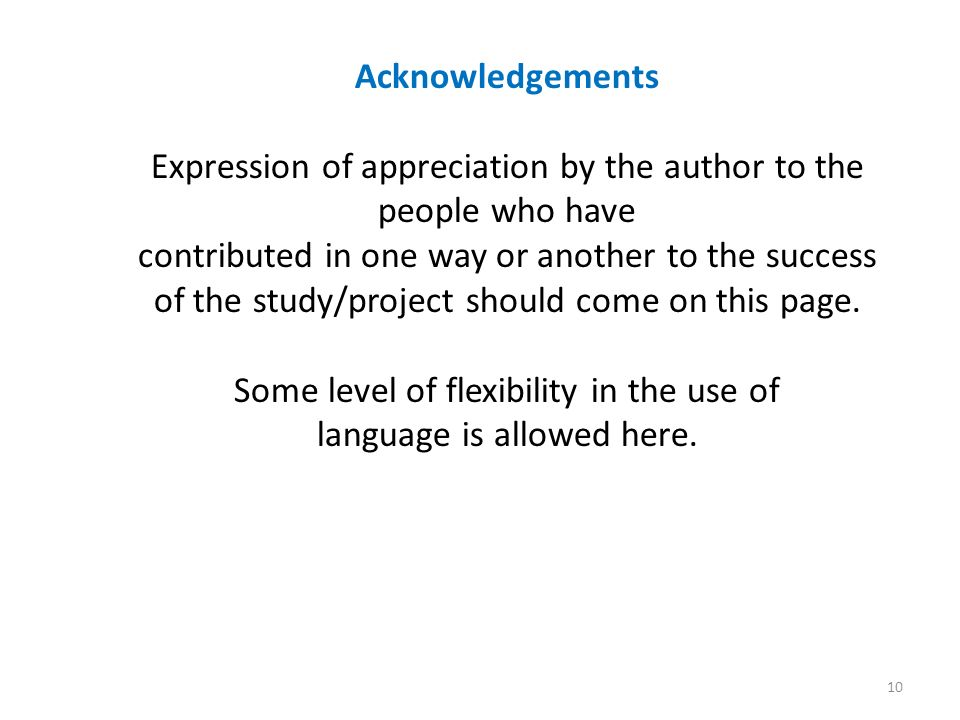 acknowledgement for dissertations Example dissertation acknowledgements