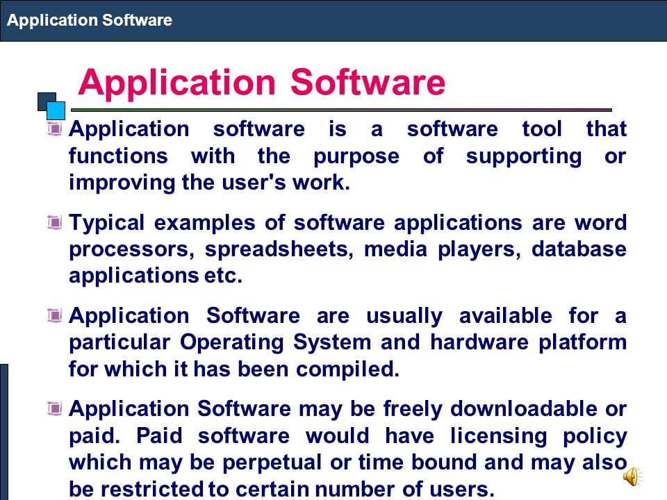 examples of application software