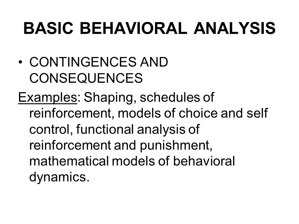 Legacy Of BFSkinner The Scope Of Behavior Analysis Basic