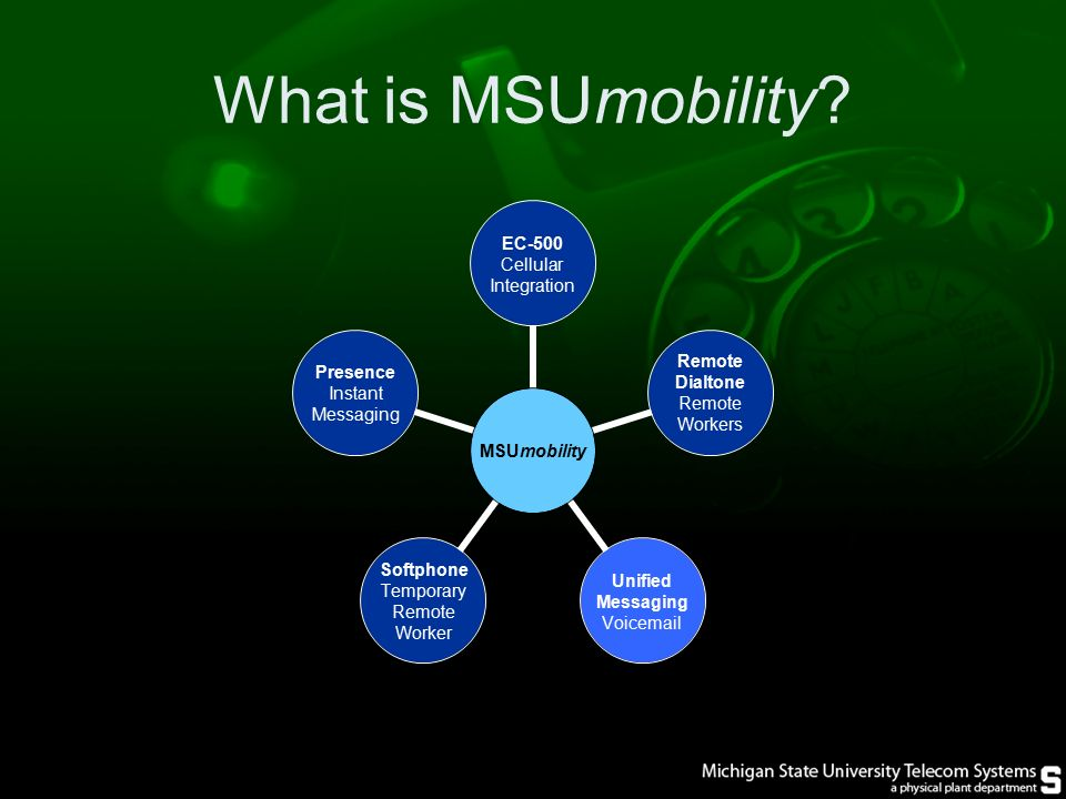 What is MSUmobility.