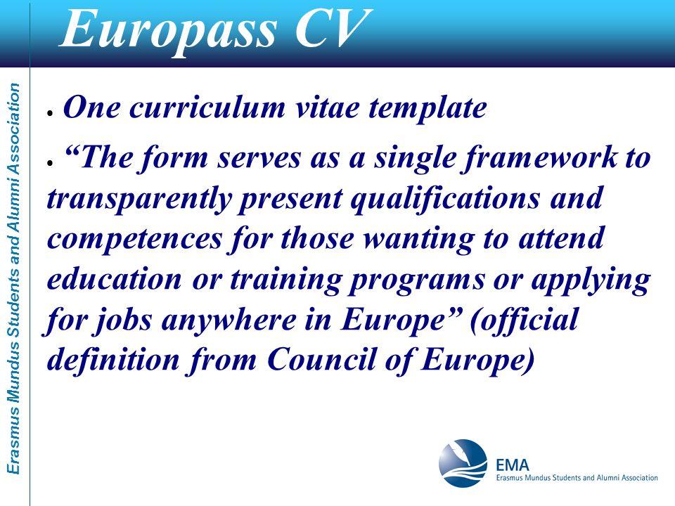 Erasmus Mundus Students and Alumni Association Erasmus Mundus How ...