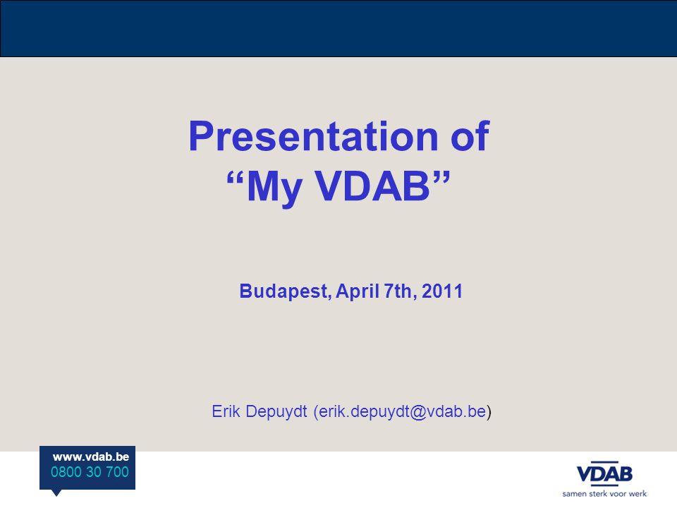 Presentation of my vdab budapest april 7th 2011 erik depuydt 1 yelopaper Choice Image