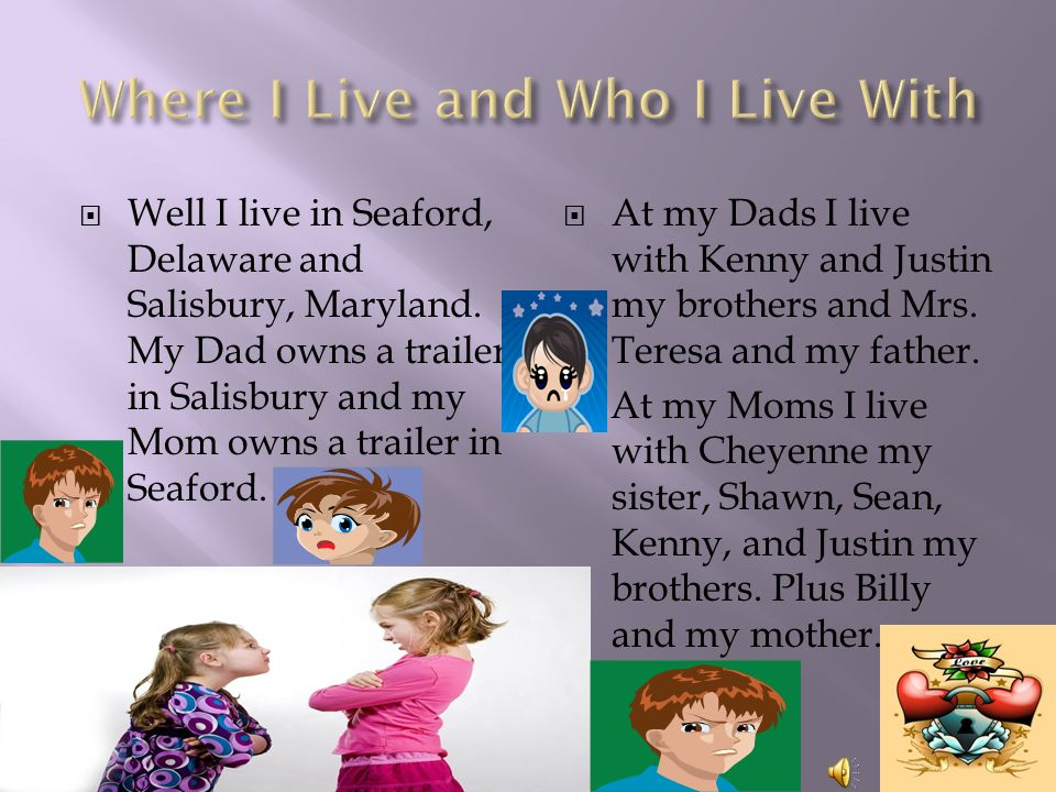  Well I live in Seaford, Delaware and Salisbury, Maryland.