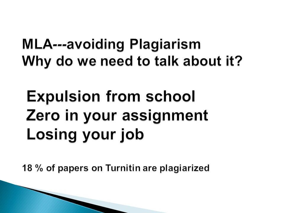 we must work to stop plagiarism essay Misconception 15: turnitin employs legions of writing experts to read and evaluate papers for plagiarism reality: turnitin receives over 200,000 papers daily, and no human reads the papers at turnitin.