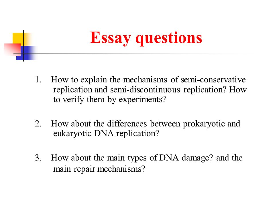 dna technology essay questions Recombinant dna technology see assignment notes paper details: in each section, whether the items in the presentation are applications of recombinant dna technology.