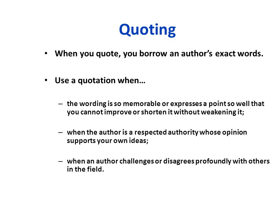 quotes within an essay Application essays how to quote a source do not use quotation marks unless you need to indicate a quotation within your quotation top.