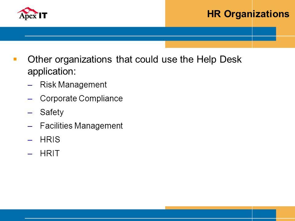 hr help desk presentation
