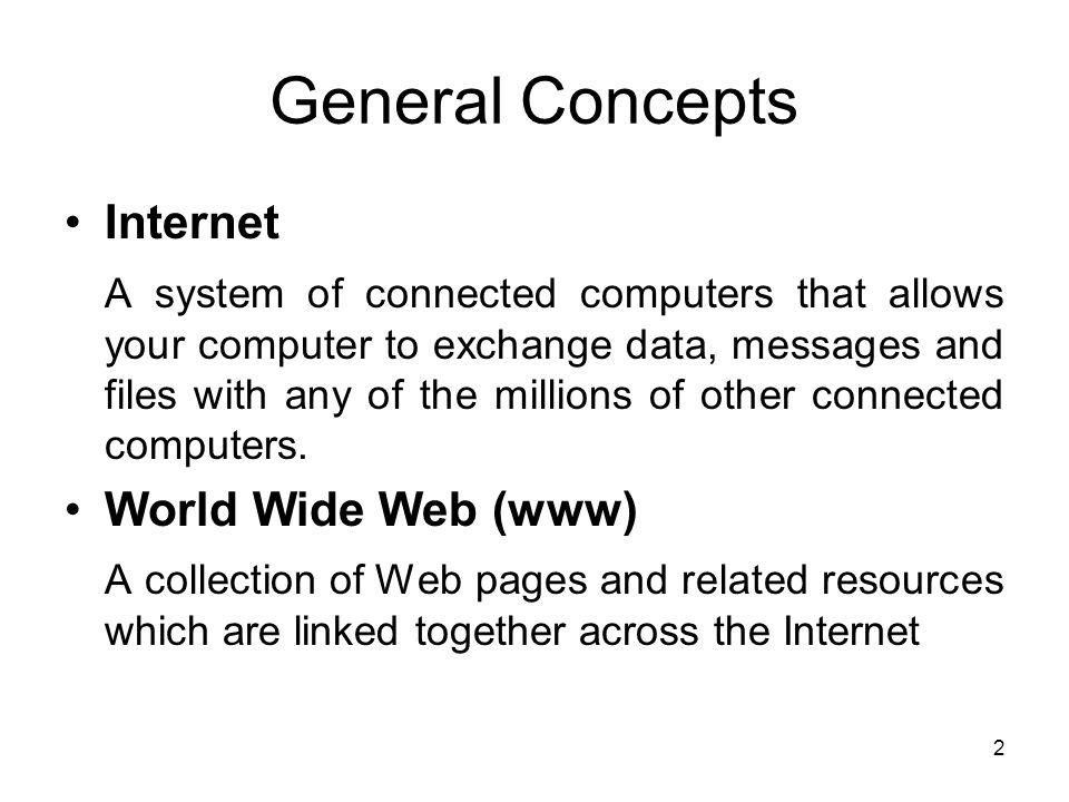 general internet skills