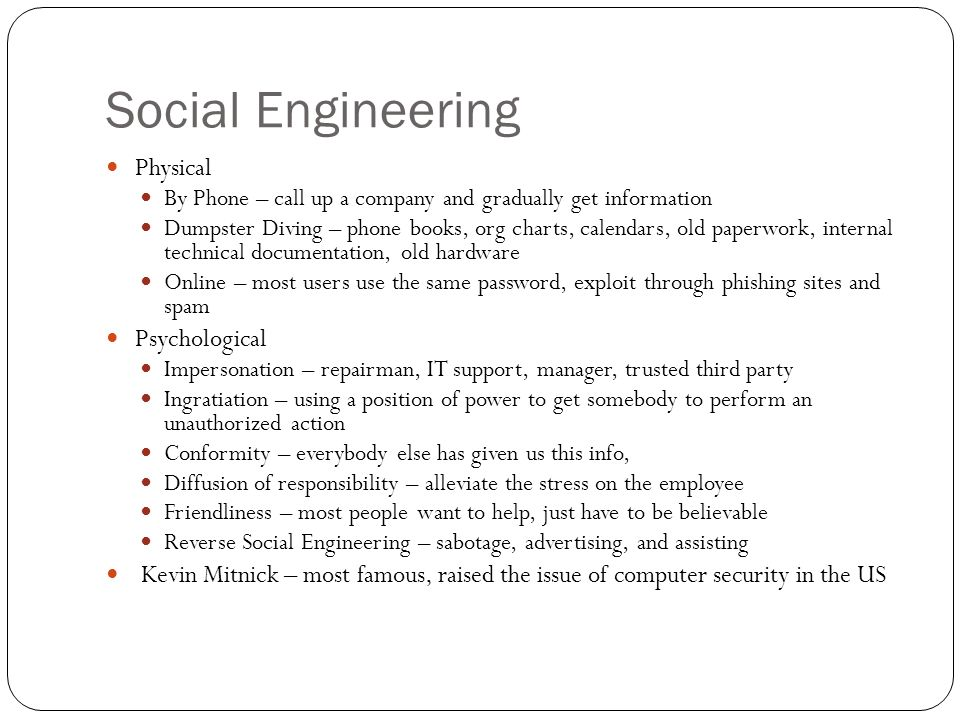 social engineering books