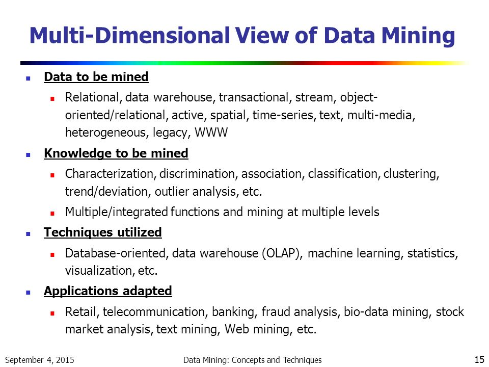 research papers on data mining classification