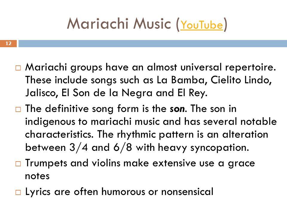 mariachi musik youtube