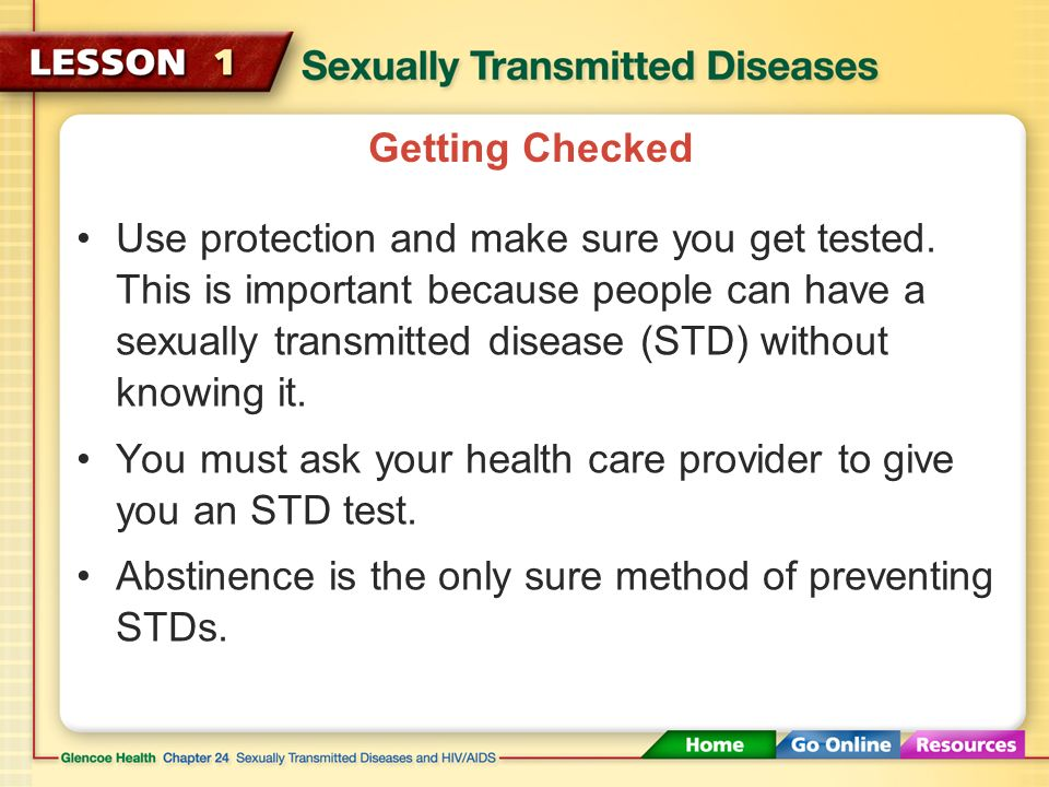 The STD Epidemic The CDC estimates that each year, 19 million people are infected with an STD.