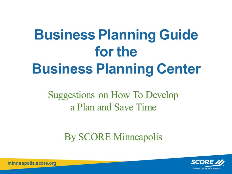 Minneapolisscoreorg Click To Edit Master Title Style Business - Scoreorg business plan template