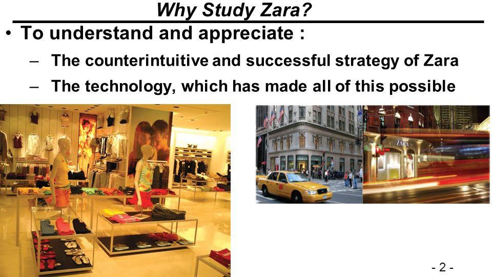 zaras case study