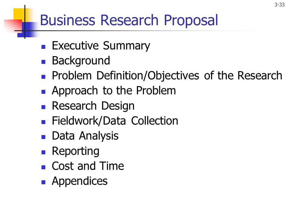 Marketing Research Problem Definition and the Research Proposal Dr  Zafer  Erdogan