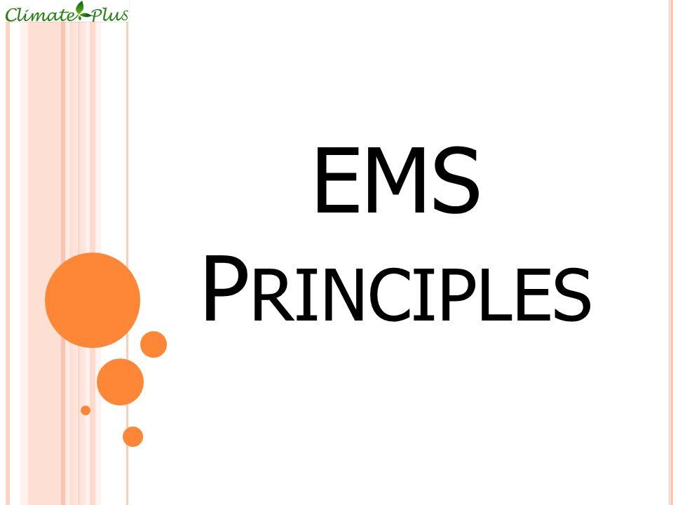 EMS P RINCIPLES