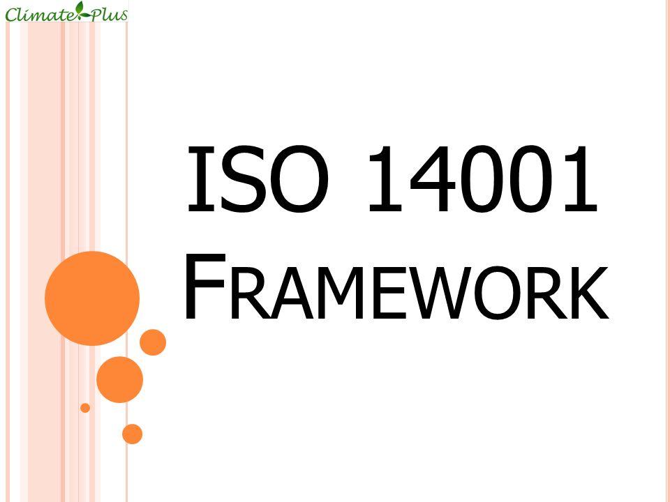 ISO 14001 F RAMEWORK