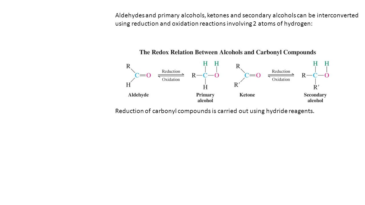 analysis of ketones aldehydes and alcohols essay Identification of an unknown – alcohols, aldehydes, and ketones a list of alcohols, aldehydes, and ketones a sample analysis.
