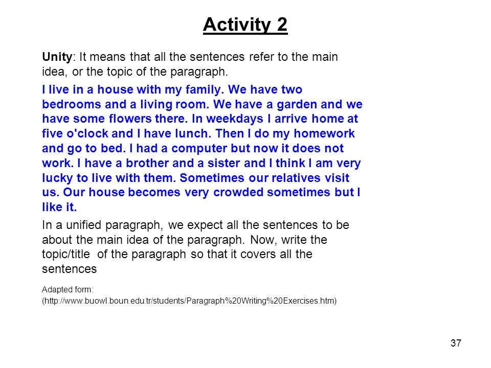 Help with my Topic Sentence!?