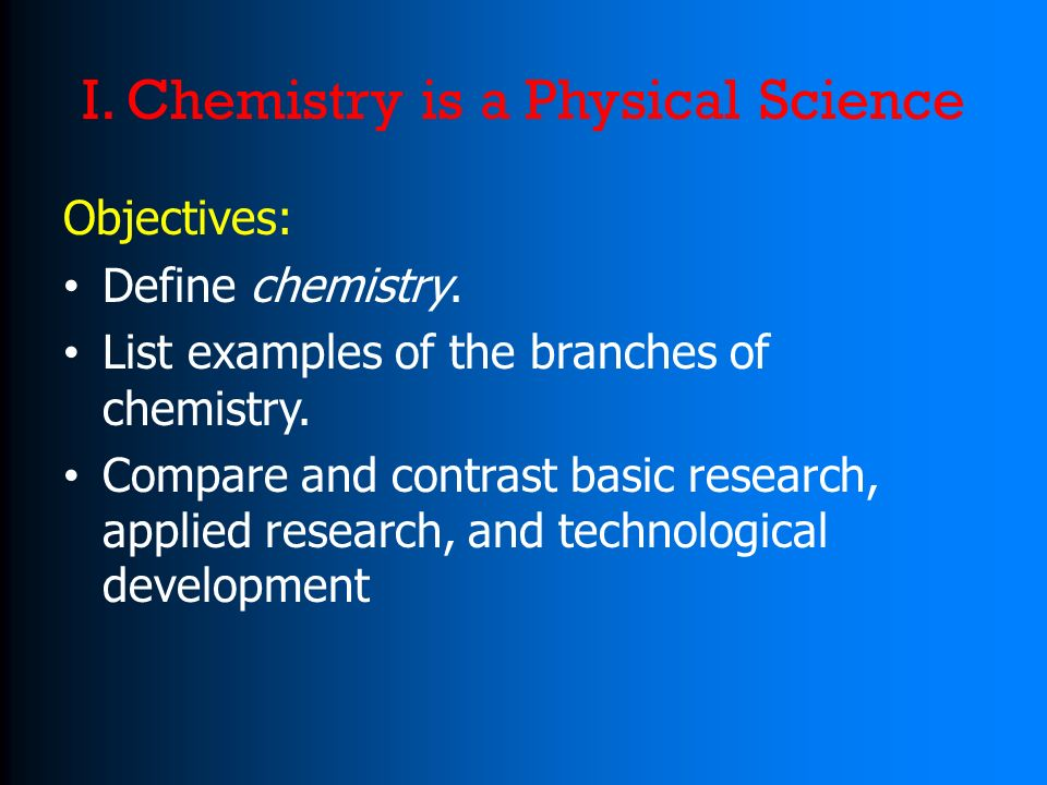 Chemistry Research Papers